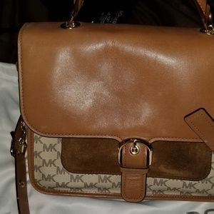 MICHAEL MICHAEL KORS  Large Leather and Lo